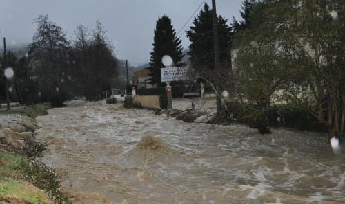 inondations à chalabre