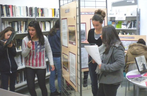 collège antoine-pons,bibliothèque chalabre,la retirada