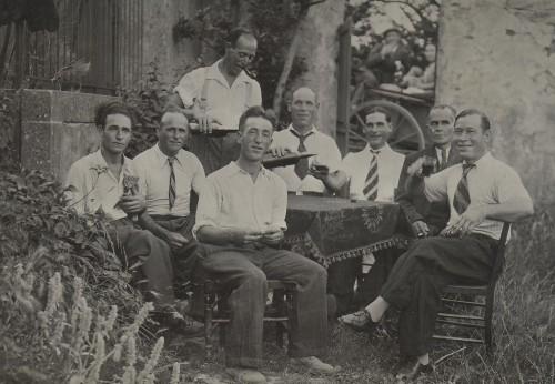Corbières La Tuilerie Travailleurs Espagnols en 1941.jpg