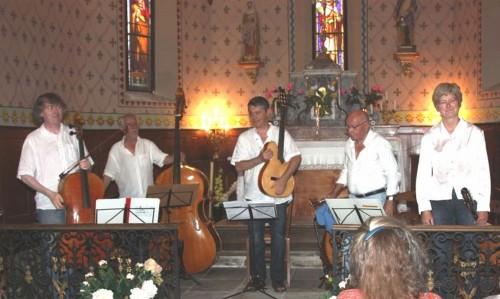 saint jean baptiste sonnac sur l'hers,musique en kercorb