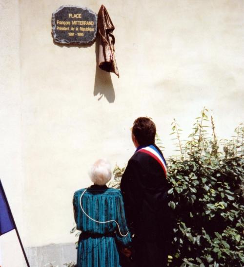 place françois mitterrand