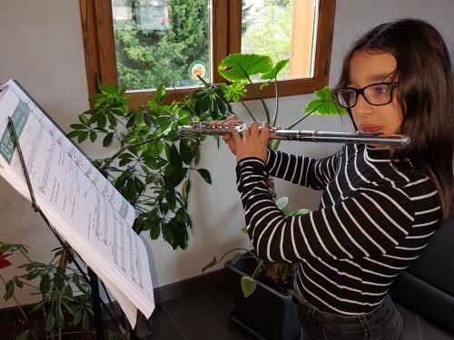 Naomie Padet,école de musique rené-allabert
