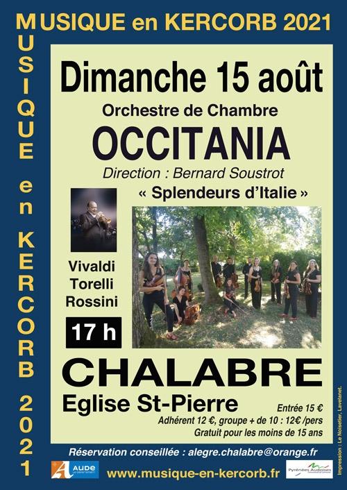 musique en kercorb 2021,orchestre de chambre occitania