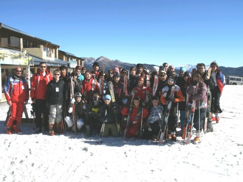 collège antoine pons,ski formiguères