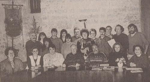 comité des fêtes de chalabre 1996