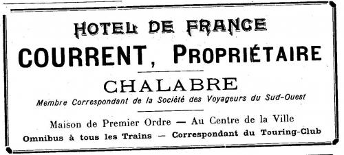 hôtel de france,didier et marielle limouzy
