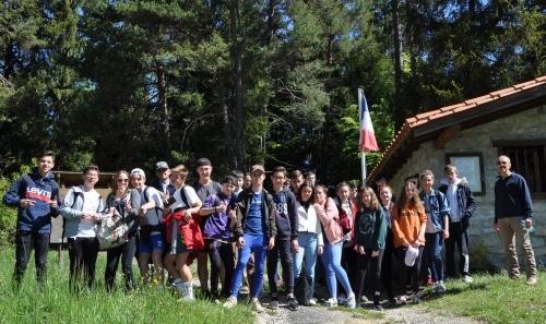 collège saint-exupéry bram,souvenir français, hameau de lescale