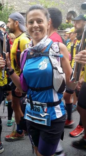 fanfan discala,marathon des cimes 2017