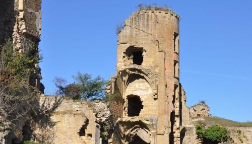 château de lagarde,médiévales