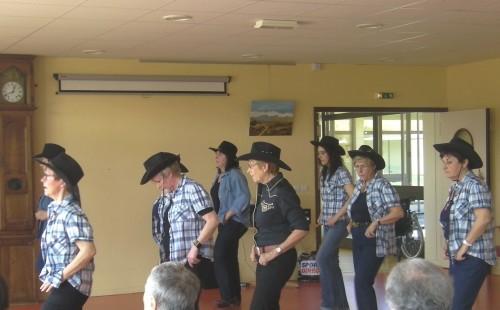 danse country chalabre,ehpad hauts de bon accueil