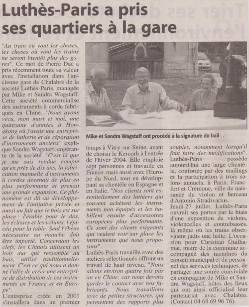 Luthès Article publié le 30  Juillet 2006.jpg