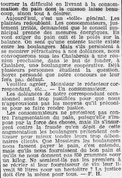 1910 L'Eclair 14 octobre Boulangers fraudeurs 002.jpg