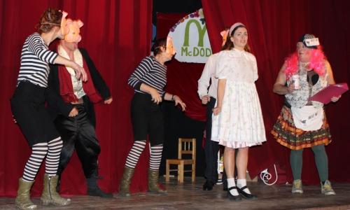 collège antoine-pons,alice et le cirque merveilleux