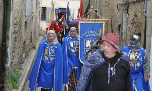confrérie des chevaliers du tougnol,confrérie des compagnons de saint andré de roubichoux,confrérie de l'ail rose de lautrec,mousquetaires du razès