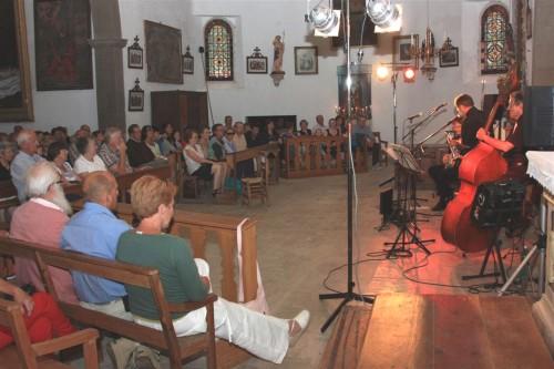 santandréa jazz trio,chapelle du calvaire chalabre