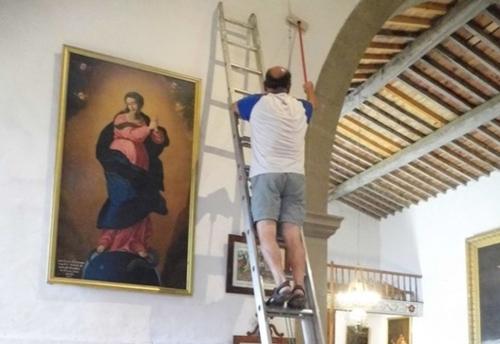 rénovation de la chapelle du calvaire,musique en kercorb,ensemble canzona