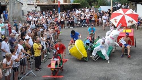 course à la brouette 2019,cazal