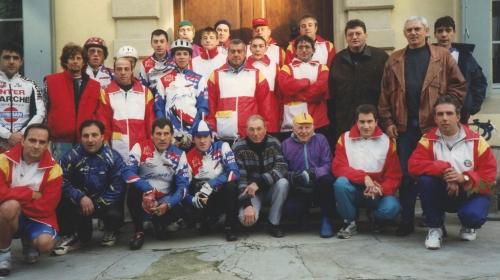 caserne jean-cabanier,téléthon 1995,cyclo-vtt-club du chalabrais