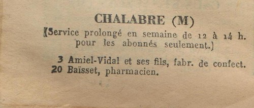 annuaire 1937 chalabre