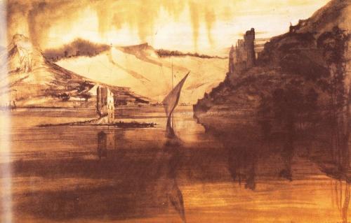 Lavis d'encre de V. Hugo 1842.jpg